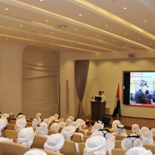 Rabdan Academy organizes a charity campaign in cooperation with the UAE Red Crescent