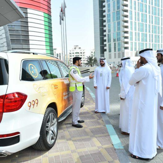 Rabdan Academy Participates in the 33rd edition of GCC Traffic Week