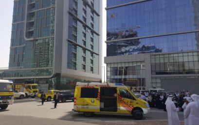 Rabdan Academy conducts a successful fire evacuation drill