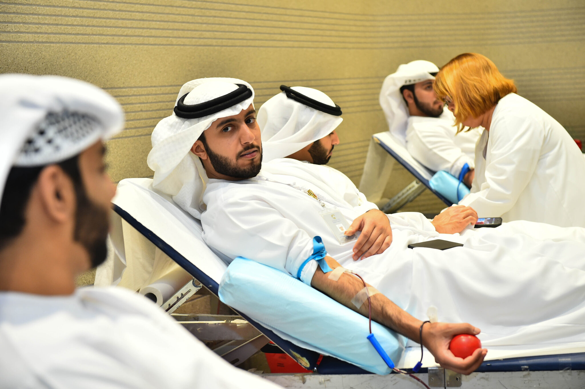 Rabdan Academy organizes a blood donation campaign In cooperation