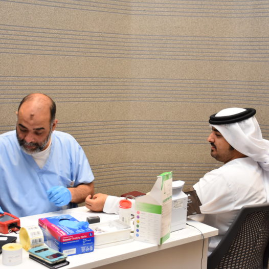 Rabdan Academy Launches Blood Donation Campaign in collaboration with Blood Bank