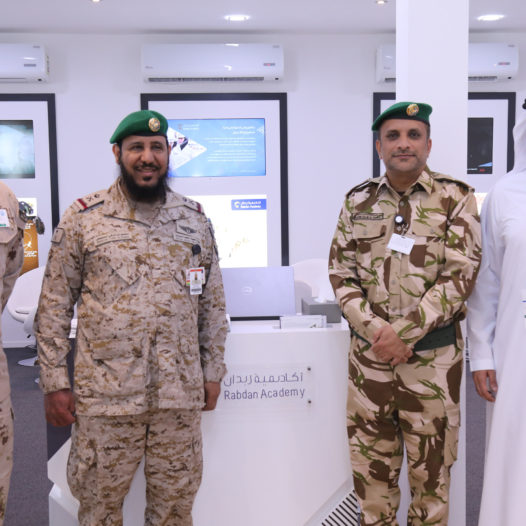 Rabdan Academy Participates in the Saudi International Airshow