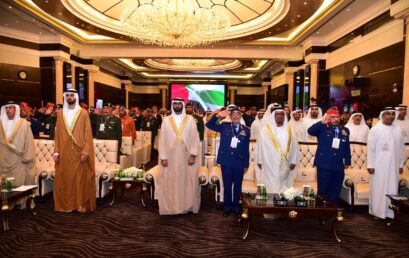 """Rabdan Academy Participates in the Ministry of Defense Conference """"Winning the Digital War"""""""