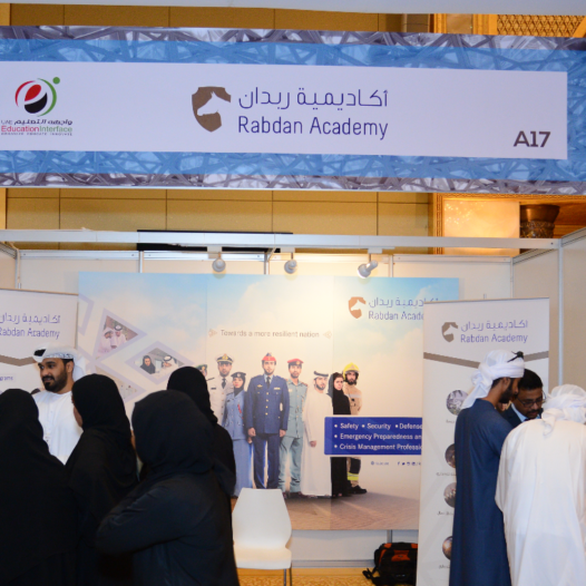Rabdan Academy Showcases its Academic Programs during the 6th UAE Education Interface Exhibition