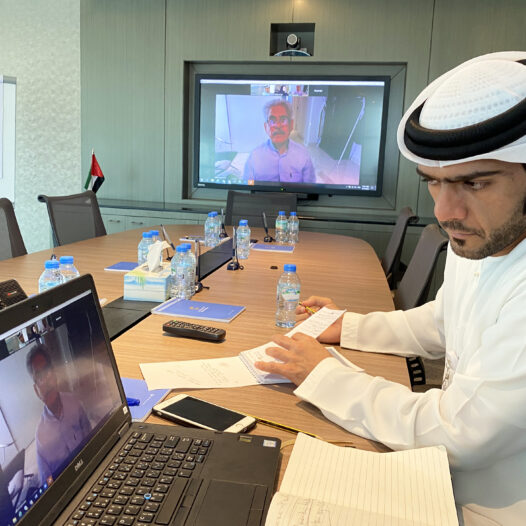 Rabdan Academy conduct virtual meeting with executive from IHC and WHO