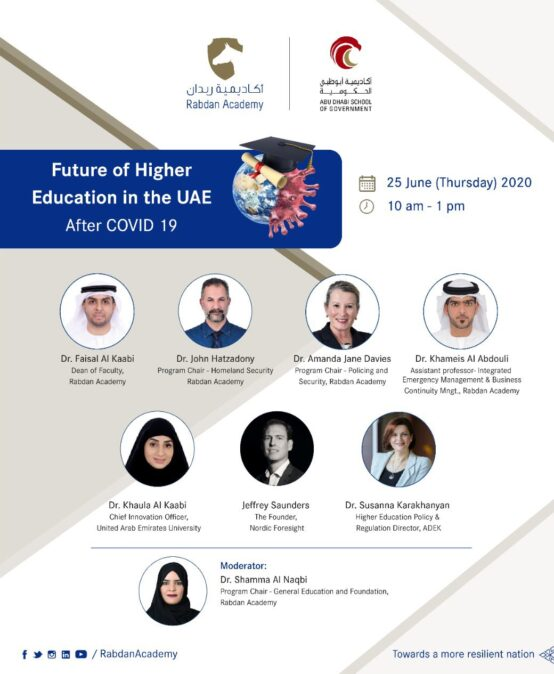 Future Foresight for Higher Education in the UAE After COVID 19 in the UAE