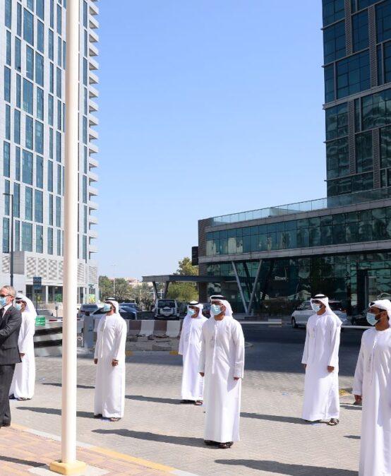 Rabdan Academy celebrating UAE Flag day 2020