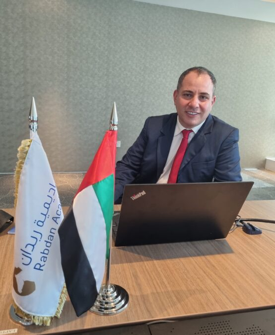Rabdan Academy organizes a security lecture for Abu Dhabi Police officers