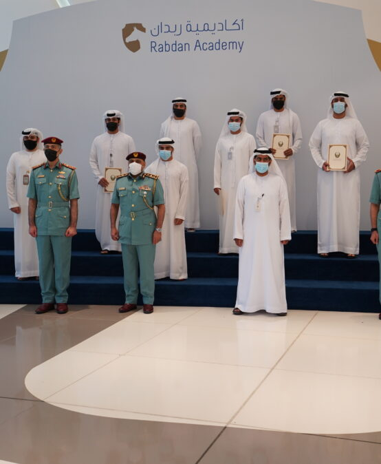 Rabdan Academy honors its outstanding students from the Ministry of Interior