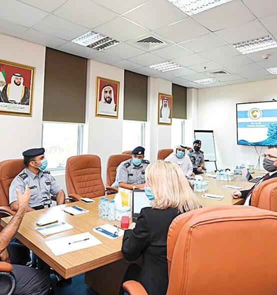 Cooperation between Abu Dhabi Police and Rabdan Academy in scientific research